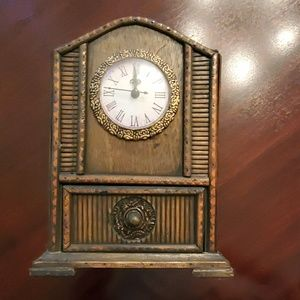 Vintage Clock Decor